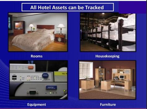 hotel asset tracking